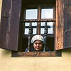 Woman in Window<br /> Safranbolu, Turkey