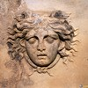 Medusa - Relief Detail<br /> Afrodisias, Turkey