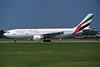 A6-EKO Airbus A300B4-605R c/n 747 Manchester/EGCC/MAN 06-08-95 (35mm slide)