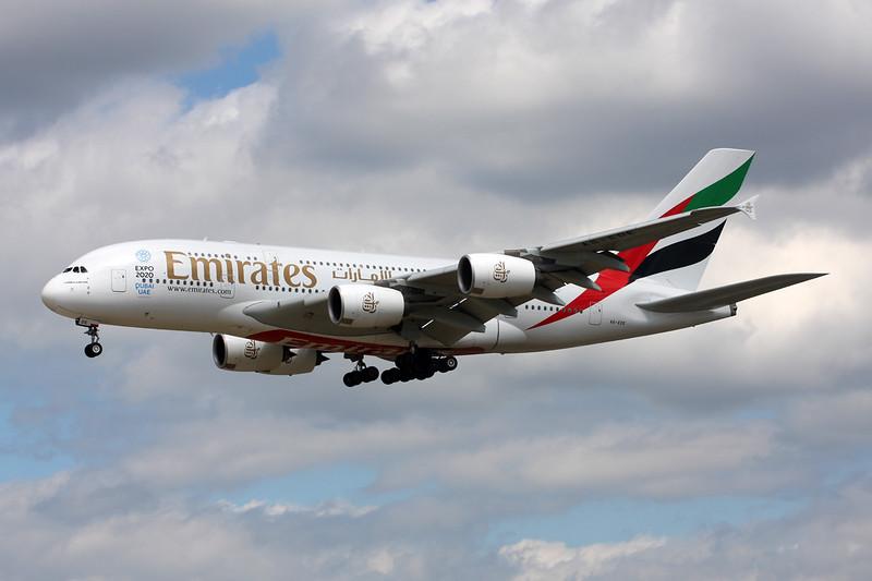 "A6-EDE Airbus A380-861 c/n 017 Frankfurt/EDDF/FRA 03-06-15 ""Expo 2020 Dubai"""
