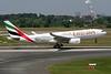 "A6-EAE Airbus A330-243 c/n 384 Dusseldorf/EDDL/DUS 10-06-06 ""World Cup Germany 2006"""
