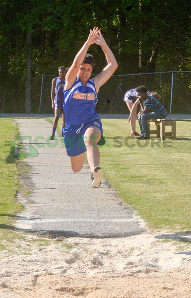 4-12-16  Coweta Middle Track Championships - Day one
