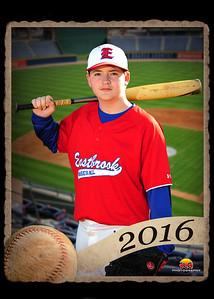 Eastbrook Middle Baseball 2016
