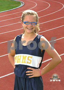 2014 - New Hope Middle Cross Country