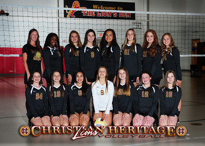 2016 Christian Heritage Middle School Volleyball