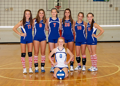 HMS Volleyball Team Pictures