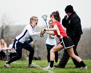 04-09-2011 Girls Lacrosse-vs-Wakefield