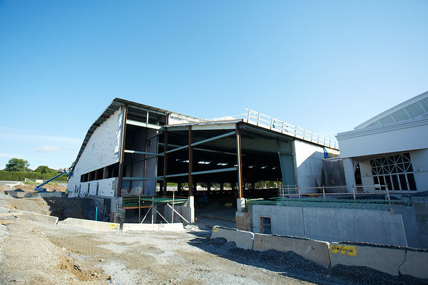 Middlebury Field House Progress 07/24/14