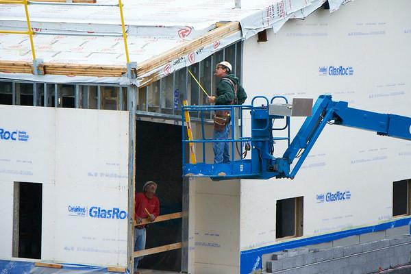 Middlebury Field House Progress 08/22/14