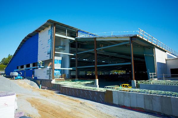 Middlebury Field House Progress 09/17/14