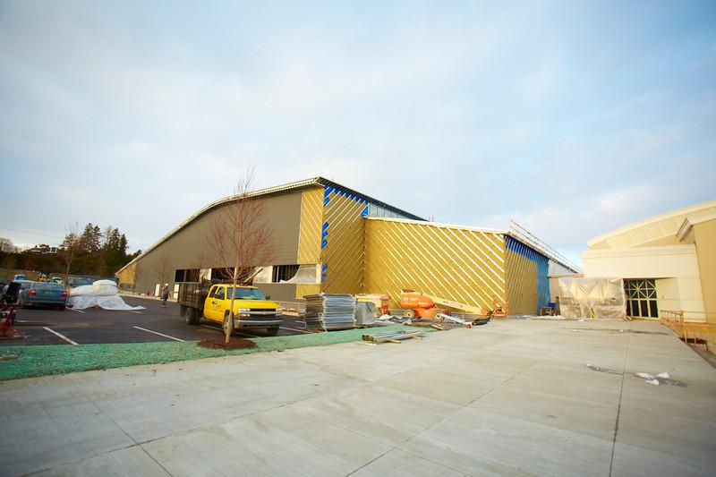 Middlebury Field House Progress 12/04/14