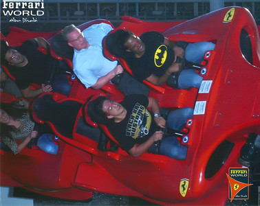 Formula Rossa - World's Fastest Roller Coaster Abu Dhabi & Ferrari World