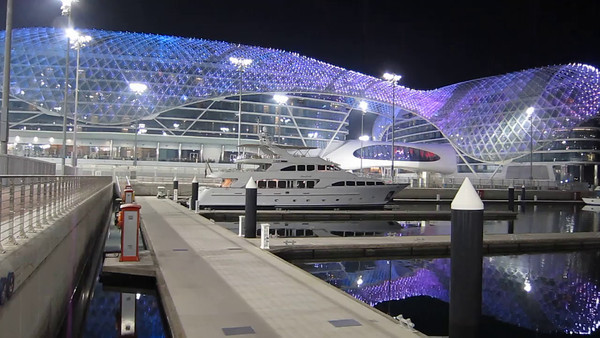 YAS Island Viceroy Hotel at the F1 track Abu Dhabi & Ferrari World