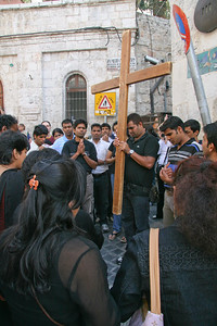 Via Dolorosa, Easter in Jerusalem