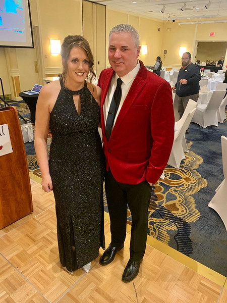 Joseph's parents and co-founders of the Joseph Middlemiss Big Heart Foundation, Kate and Scott Middlemiss of Dracut