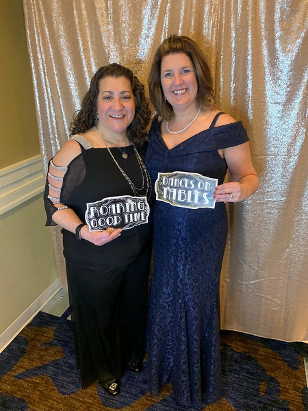 Julie Simon of Dracut and Christie Manganis of Chelmsford