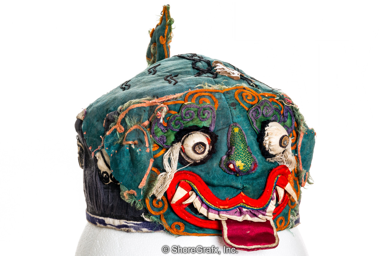 China Child's Silk Tiger Hat