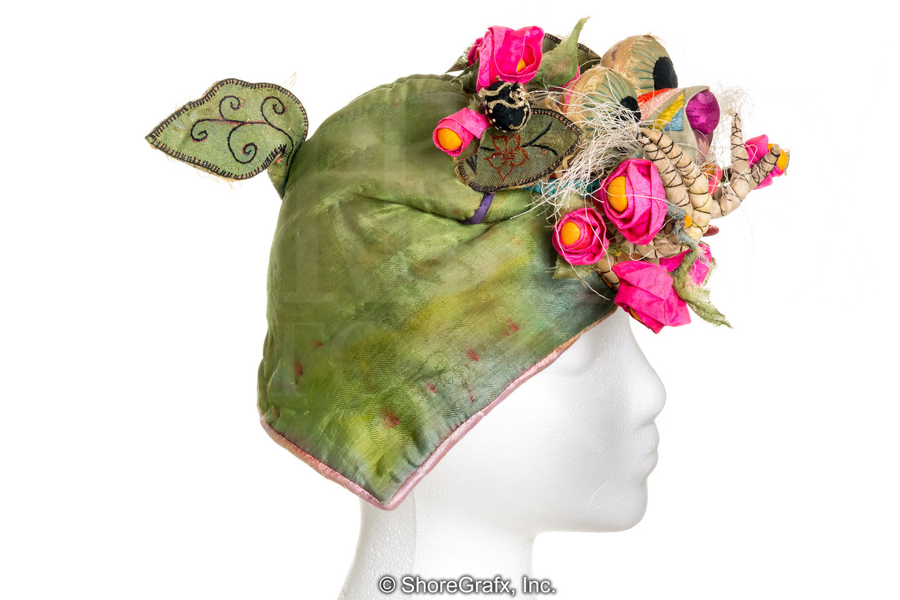 China Child's Flower Dragon Hat