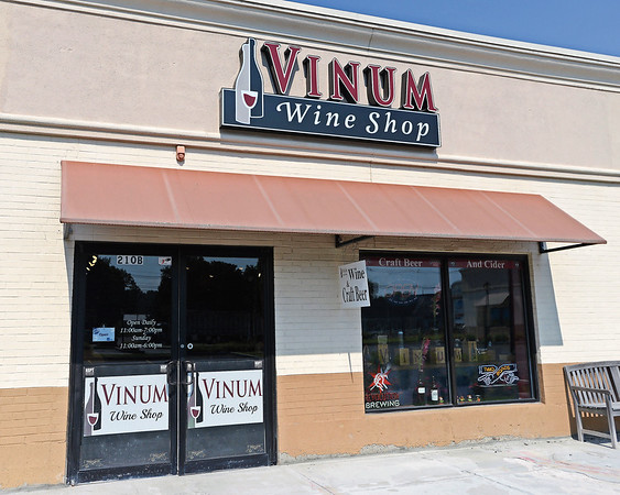 RYAN HUTTON/ Staff photo<br /> Vinum Wine Shop in Middleton.