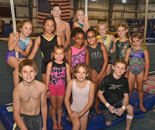 Students of all ages at YellowJackets Gym in Middleton.<br /> <br /> Photo by JoeBrownPhotos.com
