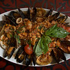 JIM VAIKNORAS/Staff photo  Frutti Dimare , shrimp, scallops, muscles, calimari, clams in a fra Diavolo sauce at Teresa's in Middleton.