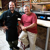 JIM VAIKNORAS/Staff photo  Nick Yebba Sr. and Nick Yebba Jr. are the owner and executive chef of Teresa's in Middleton.