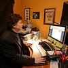RYAN HUTTON/ Staff photo<br /> Bob Wolfman in the office of his Middleton home.