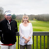 JIM VAIKNORAS/Staff photo Chris Costa and Linda (Segee) LaCroix on the deck at Middleton Golf Course.