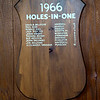 JIM VAIKNORAS/Staff photo Holes in one plaques at Middleton Golf Course,. The golfer and the hole for every Hole in One is recorded and displayed in the club house. being a course of all par 3's every golfer had 18 chances for an ace every round.