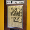 RYAN HUTTON/ Staff photo<br /> A mounted article from the New Jersey Herald adorns the office of Middleton music teacher Bob Wolfman.