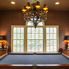 PARKER FISH/ Photo. The billiard room, located at 27C Powderhouse Lane, features a back wall which is coated in an alligator leather wallpaper to add a unique touch. 5/21/16