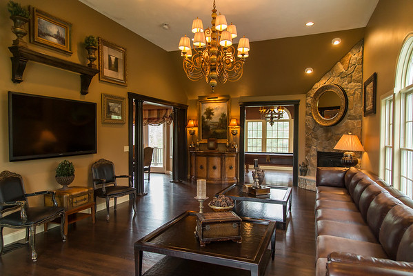 PARKER FISH/ Photo. This spacious living room is just one of many features that adds to the charm of this house located on 27C Powderhouse Lane.  5/21/16