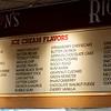 JIM VAIKNORAS/Staff photo Ice cream flavors at  Richardson's ice cream