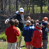 JIM VAIKNORAS/Staff photo Chris Costa with his students during a golf clinic at Middleton Golf Course .