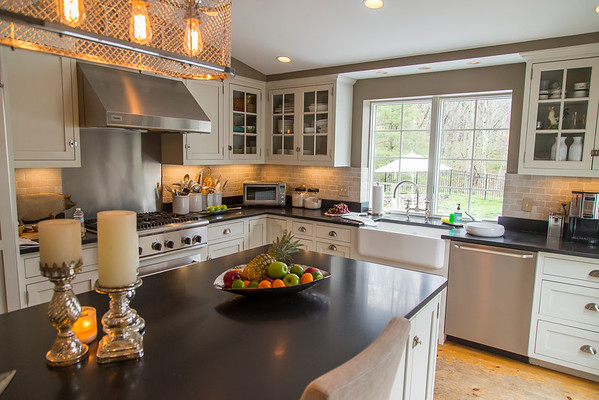 PARKER FISH/ Photo. This newly renovated kitchen can be found at 46 Baldpate Road in Boxford. 5/21/16