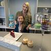JIM VAIKNORAS/Staff photoTara Canadayand her daughter  Alexis at Tara Leegh Cakes in Middleton.
