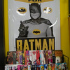 JIM VAIKNORAS/Staff photo A classic 1960's TV Batman sign at Nick's Comicaly Speaking
