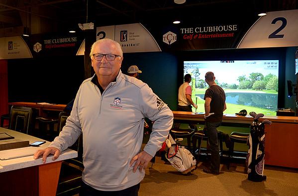 JIM VAIKNORAS/Staff photo Wayne Pasanen owner of the Club House in Middleton.