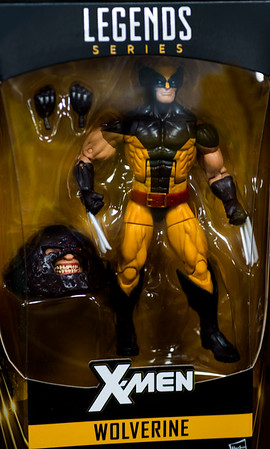 JIM VAIKNORAS/Staff photo Wolverine action figure $24.95  at Nick's Comicaly Speaking, bub.