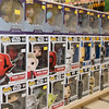 JIM VAIKNORAS/Staff photo A large assortment of Pop! Head Toys, shown are Gardian of the Galaxy and Star Wars at Nick's Comicaly Speaking.
