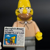 JIM VAIKNORAS/Staff photo LEGO Grampa Simpson Minifigure $5 at Nick's Comicaly Speaking