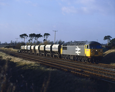 Might these have been the same wagons ?   Over 30 years ago ?  56064  Kennett 14.11.87. Mountsorrel-Kennett Redland Sdg.