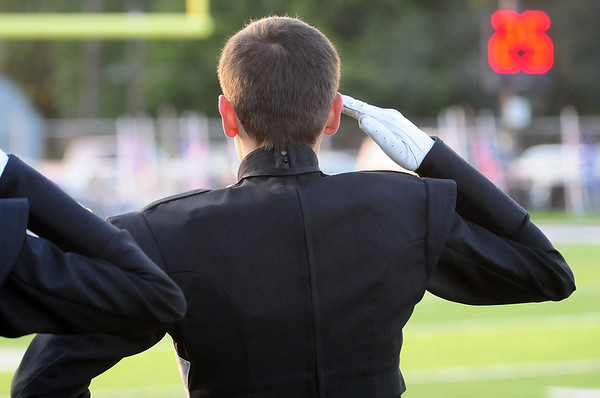 2014-09-19 Middies Marching Band