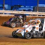 dirt track racing image - HFP_9073