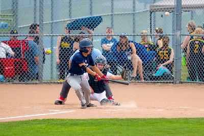 Whitby midget baseball playoff vs Leaside.