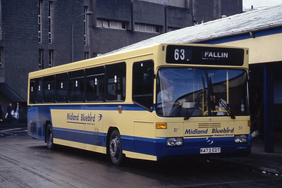 Midland 51 Stirling Bus Stn Oct 93