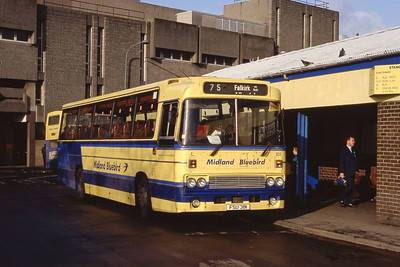 Midland 101 Stirling Bus Stn Feb 92