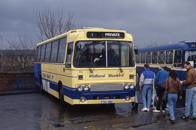 Midland 102 Stirling Bus Stn Mar 91