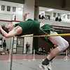 The Midland Wachusett Division B League Meet was held at Fitchburg High School Saturday, Feb. 1, 2020. Nashoba Regional High School's #429Luck Halbrooks competes in the high jump. SENTINEL & ENTERPRISE/JOHN LOVE