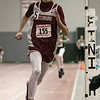 The Midland Wachusett Division B League Meet was held at Fitchburg High School Saturday, Feb. 1, 2020. FHS's #155 Michael Martinez competes in the 4x800 to start the meet off. SENTINEL & ENTERPRISE/JOHN LOVE